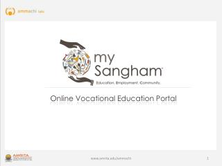 Online Vocational Education Portal