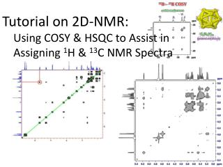 Tutorial on 2D-NMR: Using COSY & HSQC to Assist in Assigning  1 H &  13 C NMR Spectra