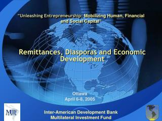 """ Unleashing Entrepreneurship:  Mobilizing Human, Financial and Social Capital"""