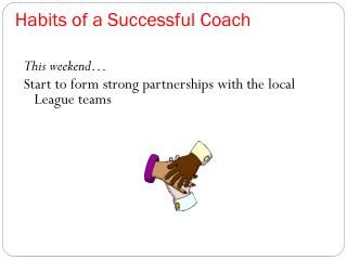 Habits of a Successful Coach