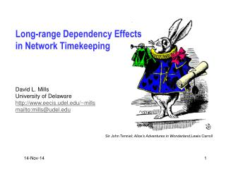 Long-range Dependency Effects in Network Timekeeping