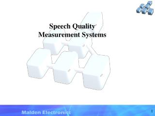 Speech Quality Measurement Systems