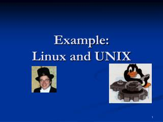 Example: Linux and UNIX