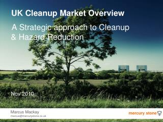 UK Cleanup Market Overview