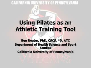 Using Pilates as an Athletic Training Tool