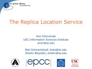 The Replica Location Service