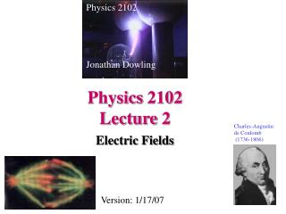 Physics 2102  Lecture 2