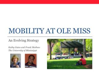 Mobility at Ole Miss