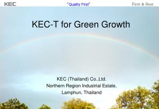 KEC-T for Green Growth