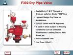 F302 Dry Pipe Valve
