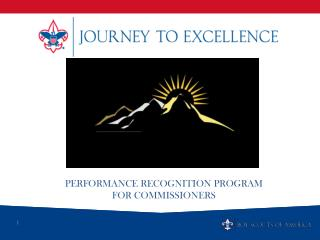 Performance Recognition Program For Commissioners