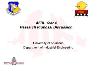 AFRL Year 4 Research Proposal Discussion