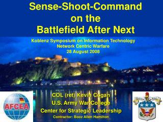 Sense-Shoot-Command on the  Battlefield After Next
