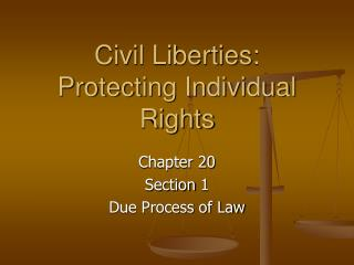 Civil Liberties: Protecting Individual Rights