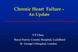 Chronic  Heart  Failure  – An Update