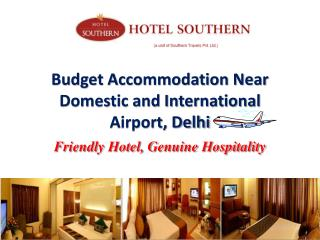 Best Accommodation Near Delhi Domestic Airport