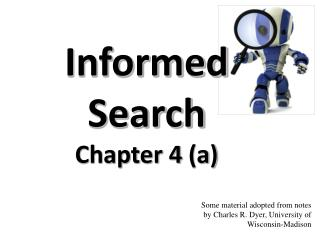 Informed Search Chapter 4 (a)