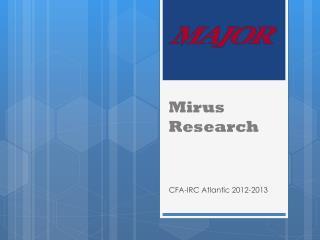 Mirus Research