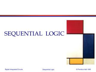 SEQUENTIAL  LOGIC