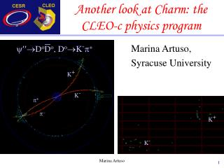 Another look at Charm: the CLEO-c physics program