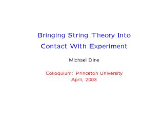 C:\papers\stringphenomenology.html