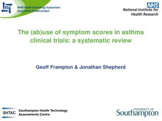 The (ab)use of symptom scores in asthma clinical trials: a systematic review