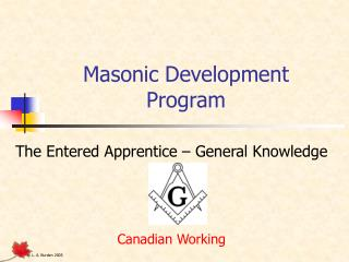 Masonic Development Program