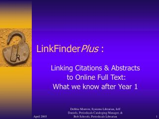 LinkFinder Plus  :