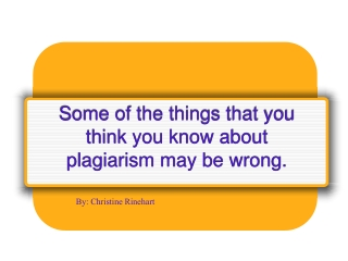 According to your textbook, _________ plagiarism occurs when a speaker copies word for word from two or three sources.