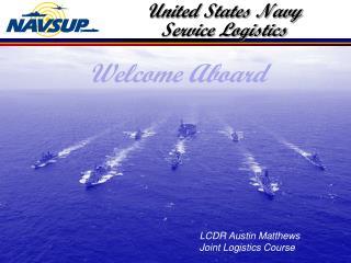 United States Navy Service Logistics