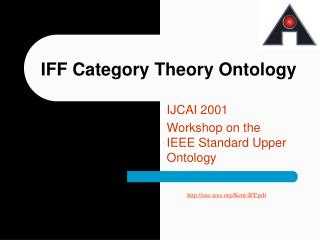 IFF Category Theory Ontology