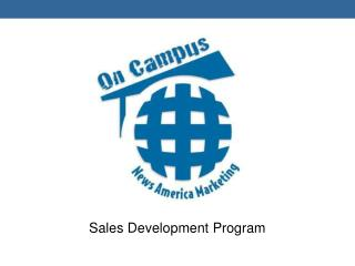 Sales Development Program