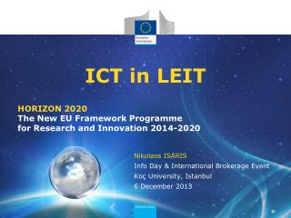 ICT in LEIT