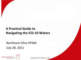 A Practical Guide to  Navigating the ICD-10 Waters