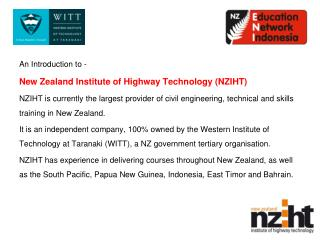 An Introduction to - New Zealand Institute of Highway Technology (NZIHT)