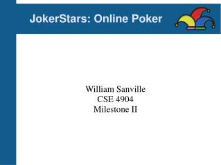 JokerStars: Online Poker
