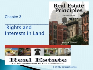 Chapter 3 ________________ Rights and Interests in Land