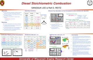Diesel Stoichiometric Combustion