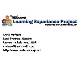 The Learning Experience Project