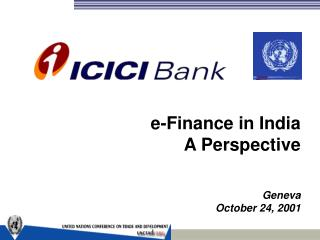 e-Finance in India A Perspective