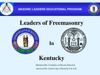 MASONIC LEADERS EDUCATIONAL PROGRAM