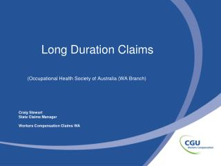 Long Duration Claims