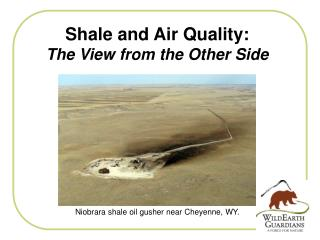 Shale and Air Quality: The View from the Other Side