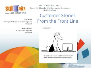 Customer Stories  From the Front Line