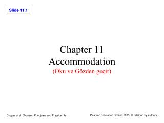 Chapter 11 Accommodation (Oku ve Gözden geçir)