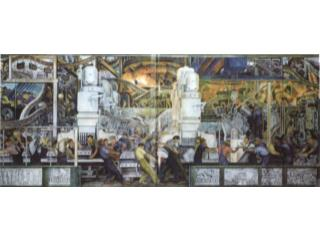 Water, Origin of Life , Diego Rivera