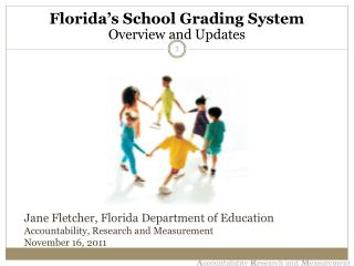 Jane Fletcher, Florida Department of Education Accountability, Research and Measurement November 16, 2011