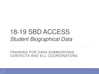 18-19 SBD ACCESS Student Biographical Data