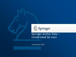 Springer Author Data –  Universidad De Leon