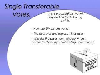 Single Transferable
